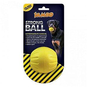 BOLA STRONG BALL PQ AMARELA