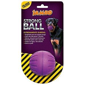 BOLA STRONG BALL PQ ROXA