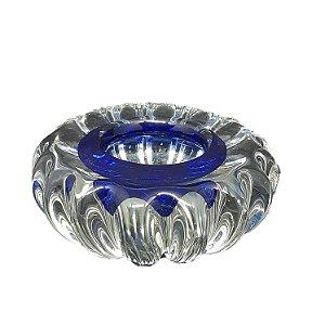 Enfeite de Mesa em Cristal Alemão Azul
