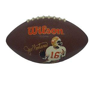 Bola Futebol Americano Wilson Joe Montana