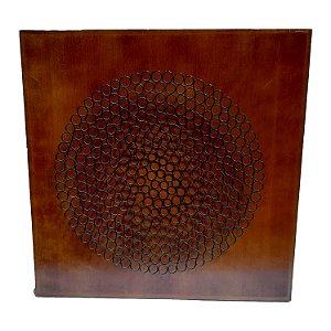 Escultura Abstrata em Ferro