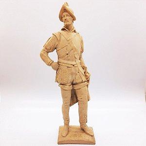 Escultura O Conquistador Espanhol