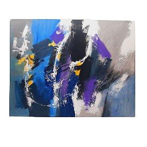 Quadro Abstrato do Artista Krambeck em óleo sobre tela