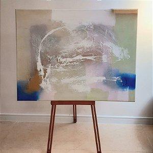 Quadro Abstrato Pintor Krambeck (90x118)