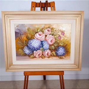 Quadro Flores por Marcia Vargas (67x86)