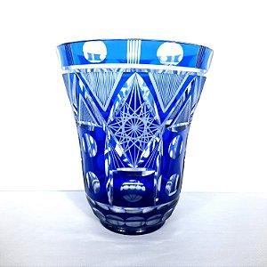 Vaso de Cristal Double Tchecoslováquio