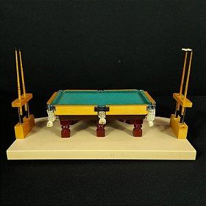 Miniatura Mesa de Sinuca Casarotto
