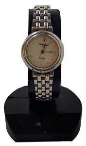 Relógio De Pulso Feminino Champion Prateado