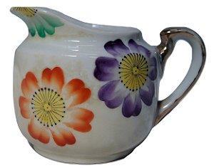 antiga mini leiteira de porcelana j.h