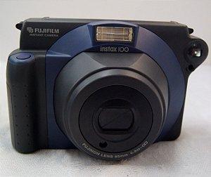 Máquina Fotográfica Antiga Câmera Fujifilm Instax 100