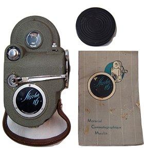Filmadora Antiga Starlett 16mm De 1949 Com Manual E Case