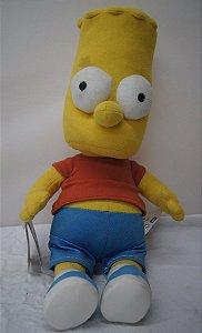 Boneco De Pelúcia Para Coleção Bart Simpson 31 Cm