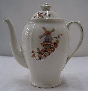 Antigo Bule para chá de porcelana alfred meakin inglesa