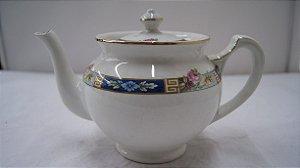 Antigo Bule para chá de porcelana wood&sonsltd inglesa