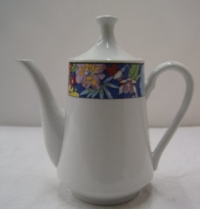 Antigo Bule para chá de porcelana the kitchen chinesa