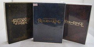 Kit 3 Coletâneas Do Senhor Dos Anéis