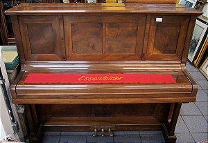Piano Essenfelder Vertical 1920 Teclado Marfim 224 Cordas