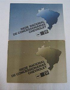 Rede Nacional De Concessionárias Chevrolet 1989 1986
