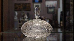 Bomboniere Baleiro De Cristal Bohemia
