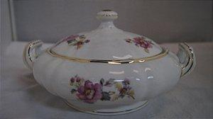 antiga sopeira portuguesa em porcelana