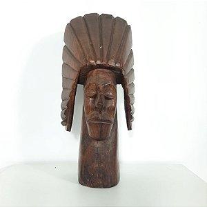 Escultura Em Jacarandá