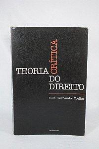 Livro Teoria Crítica Do Direito