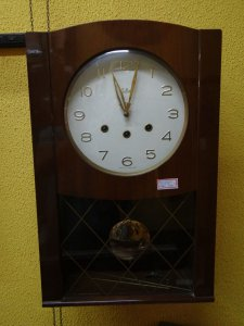 Antigo Relógio De Parede Silco Carrilhão
