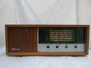 Antigo Rádio Nissei Em Madeira