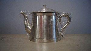 Antigo Bule Magna Prata De Lei Para Café Chá