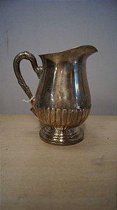 Antiga Jarra Bellini Banhado Prata 90 Água Decoração Cozinha