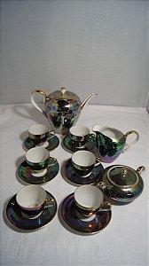 Antigo Jogo De Café Chá Porcelana Parana Porcelanarte