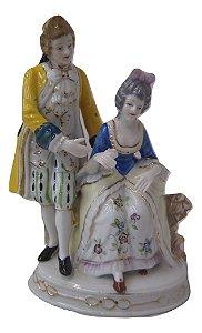 Escultura Estatua de Porcelana St Made In Occupied japan