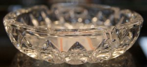 Cinzeiro Pequeno de Cristal 11cm