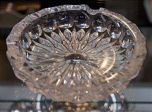 Cinzeiro e Charuteiro de Cristal 15 cm
