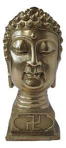 Estátua de bronze Buda Hindu Dourado 18cm