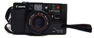 Câmera Fotográfica Canon AF35M Com Capa Protetora
