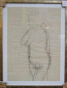 Theodoro De Bona - Esboços Nu Artístico - 8 Desenhos - Unid.