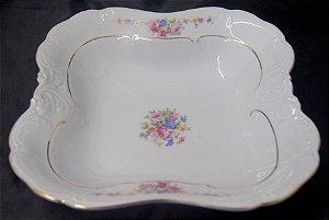tigela saladeira porcelana kpm flores