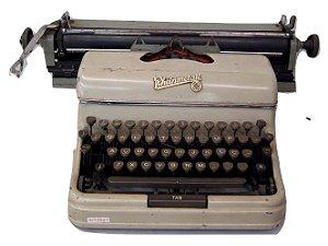 Antiga maquina de escrever Rheinmetall
