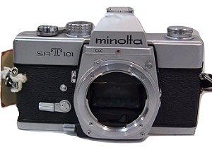 Câmera analógica MINOLTA SRT 101