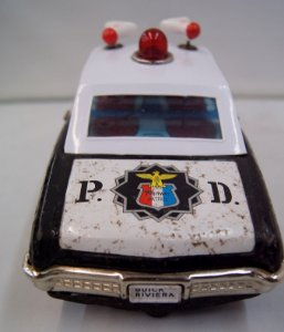 Carro de Polícia Buick Riviera Bandai Década de 60