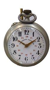 Relógio de Bolso Antigo Roskopf Patent