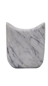 Vaso Floreira De Mármore Carrara
