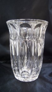 Vaso De Cristal Bohemia Decoração Casa