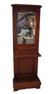 Chapeleira Antiga Estilo Colonial Com Espelho