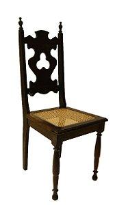 Conjunto 8 Cadeiras Para Mesa de Jantar Antiga Palinha