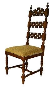 Conjunto 6 Cadeiras Para Mesa de Jantar Estilo colonial