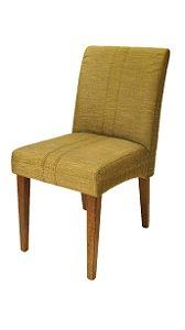Conjunto 8 Cadeiras Para Mesa de Jantar estofada Verde Musgo