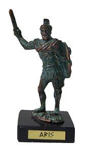 Esculta Miniatura em Bronze Deus Grego Ares
