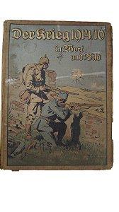 A 1º Guerra Mundial em palavras e imagens. - Livro Alemão